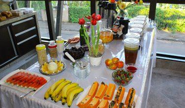 Café da manhã em Brotas – Pousada do Lago