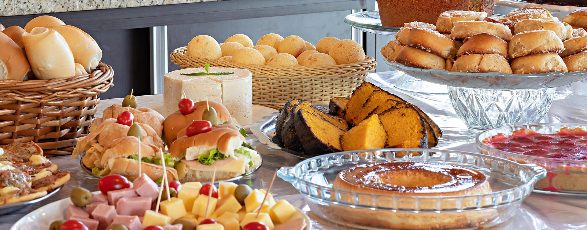 Café da Manhã em Brotas SP