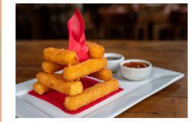 Brotas Bar – Fogueira de queijo